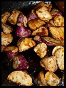 Daigaku Imo - Caramelized Sweet Potato #stepbystep #recipe masalaherb.com