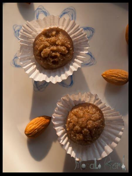 Linden honey marzipan  #stepbystep #recipe masalaherb.com