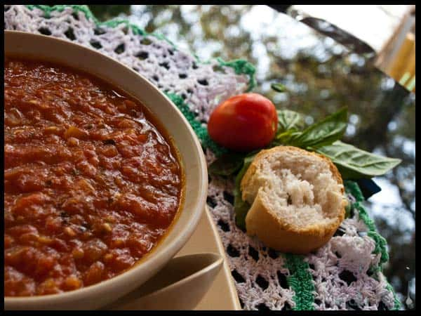 tomato soup a la provencale  #stepbystep #recipe masalaherb.com