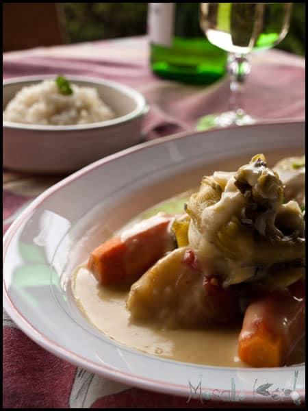 Blanquette de veau  #stepbystep #recipe masalaherb.com
