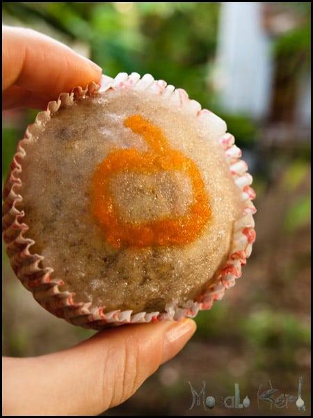 Apple Flax seed Cupcakes with Lemon Glaze #stepbystep #recipe masalaherb.com