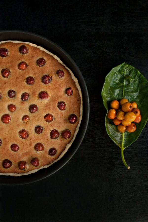 Bora Berry Tart with Coconut flour and Sugarcane Jaggery  #stepbystep #recipe masalaherb.com